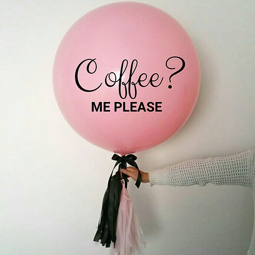 60cm Solid Balloon - Personalised