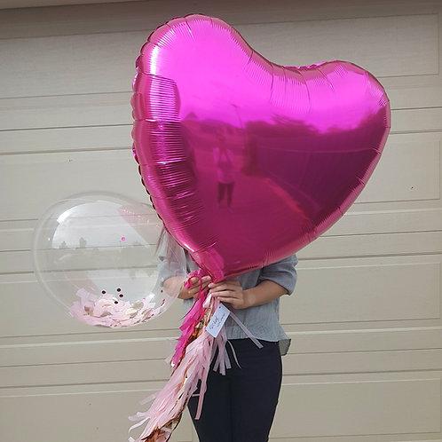 Foil Heart Balloon Jumbo