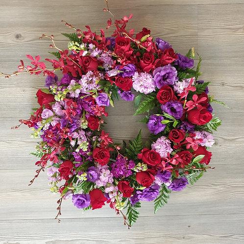 45cm Premium Wreath