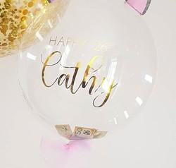 Bubble Balloon Cash Insert