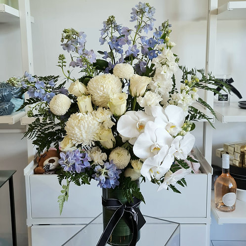 A Touch of Blue Vase