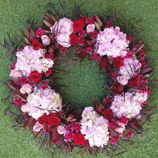 Funeral Wreath - red & pink.jpg