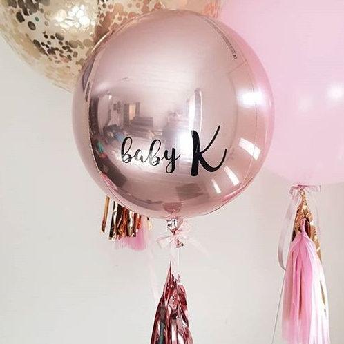 Foil Orbz Balloon