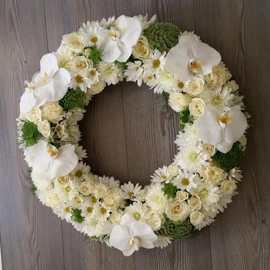 Elegant Funeral Wreath