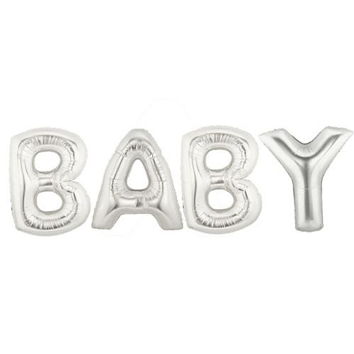 BABY Giant Foil Letters