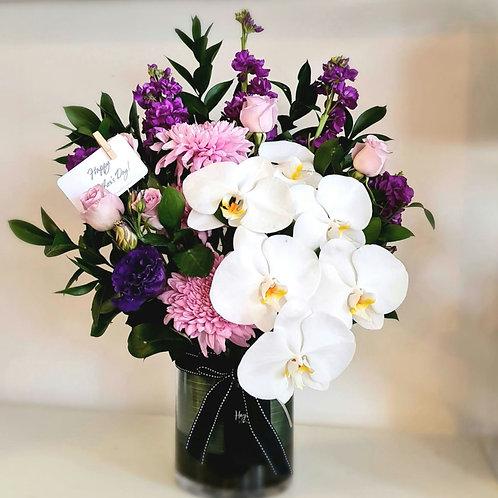 Purple Love Vase