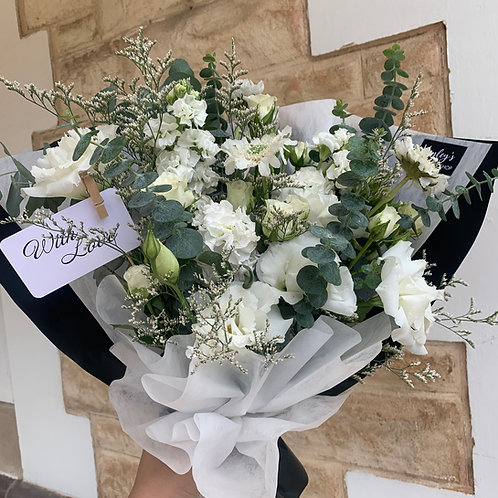 Enduring Charm - Wrapped Bouquet