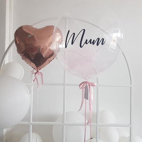 Bubble + Foil Heart Combo