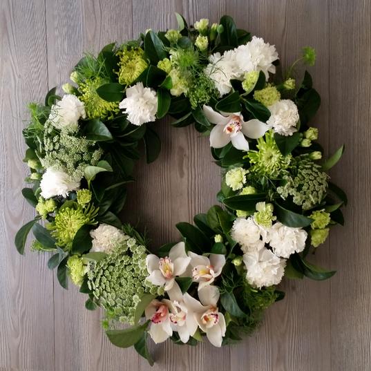 Eternity Funeral Wreath