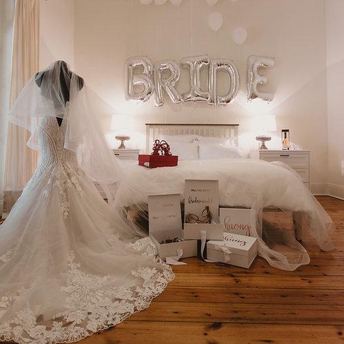BRIDE Foil Letters