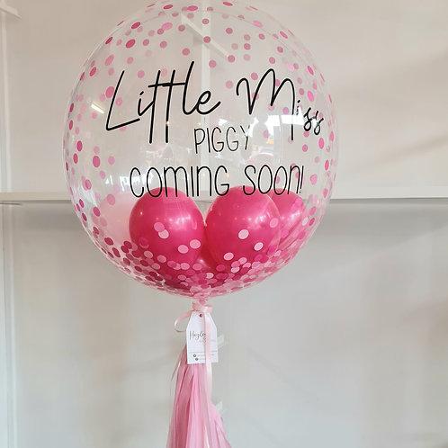 Welcome Baby Bubble Balloon