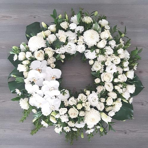 50cm LUXE Funeral Wreath