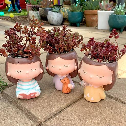 Girl Head Planter Pot Succulent 6.jpg