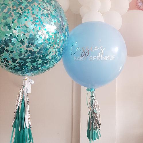 Pastel Blue Jumbo Balloon