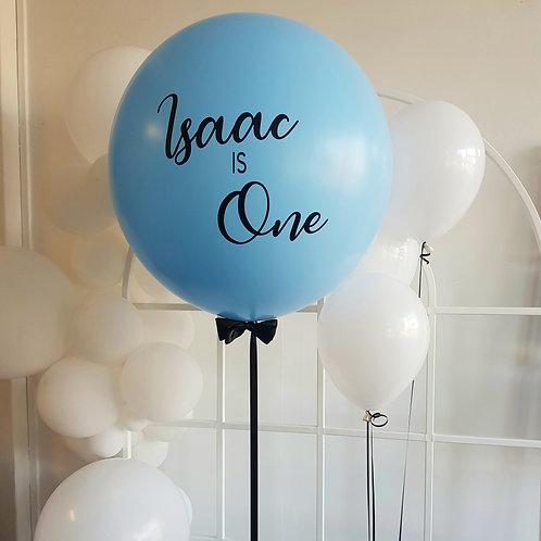 Light Blue Jumbo Balloon