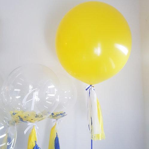 Bright Yellow Jumbo Balloon