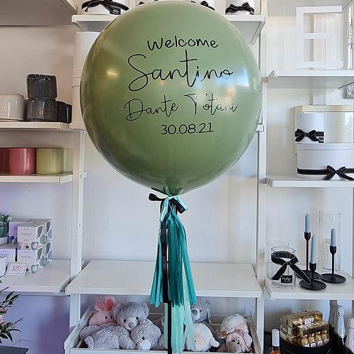 Sage Green Jumbo Balloon