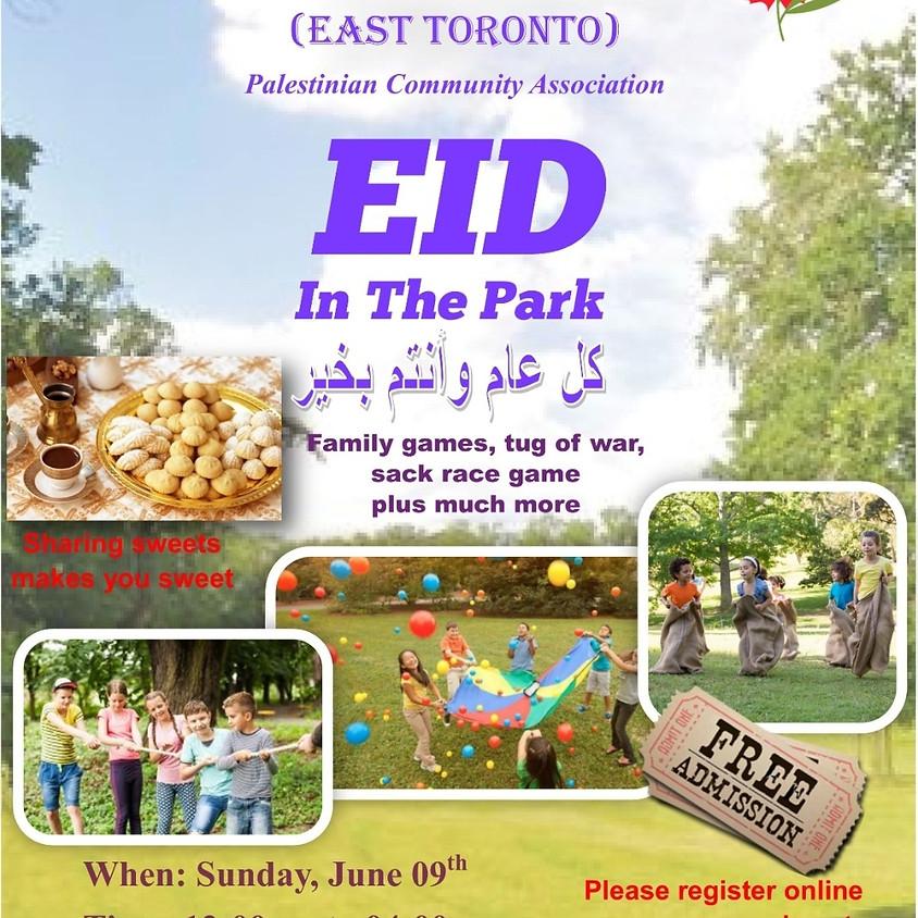 Eid in the park, June- East Toronto