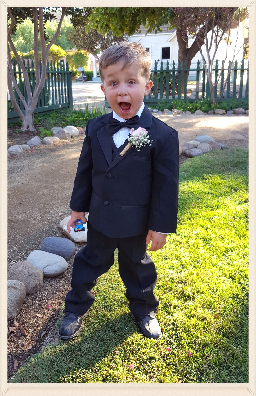 Little Ring Bearer