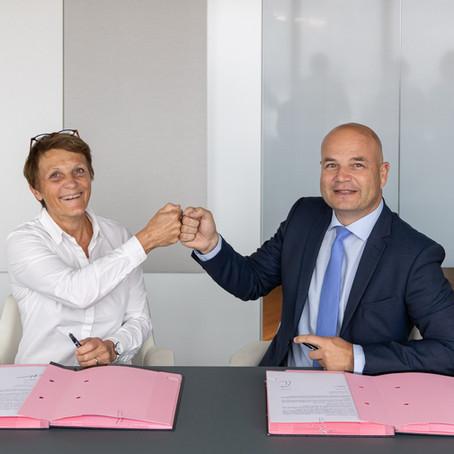 Signature d'un partenariat avec l'ordre des experts comptables