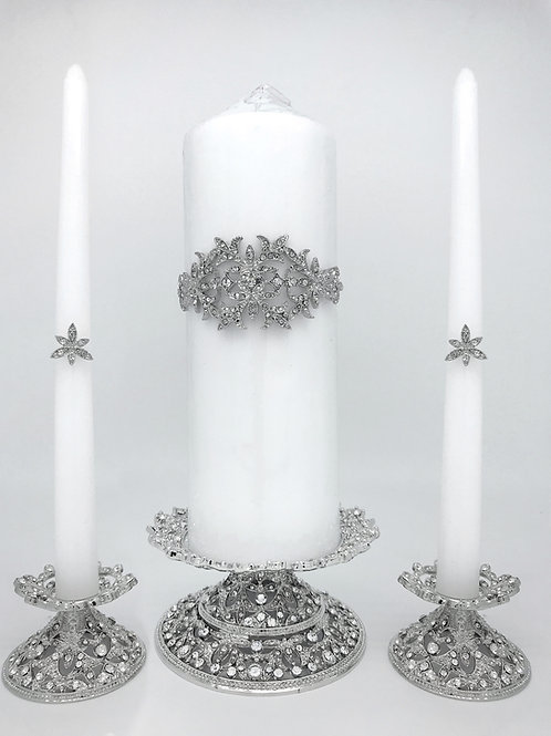 CANDLE HOLDER AND CANDLE DECORATION