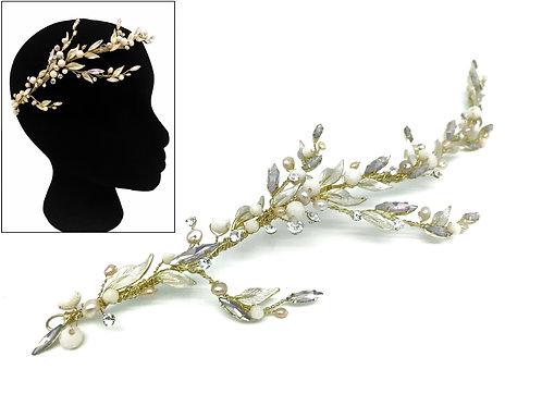 Floral Treasures Hair Comb