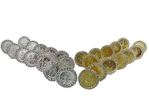 Aras Rhinestone Coins