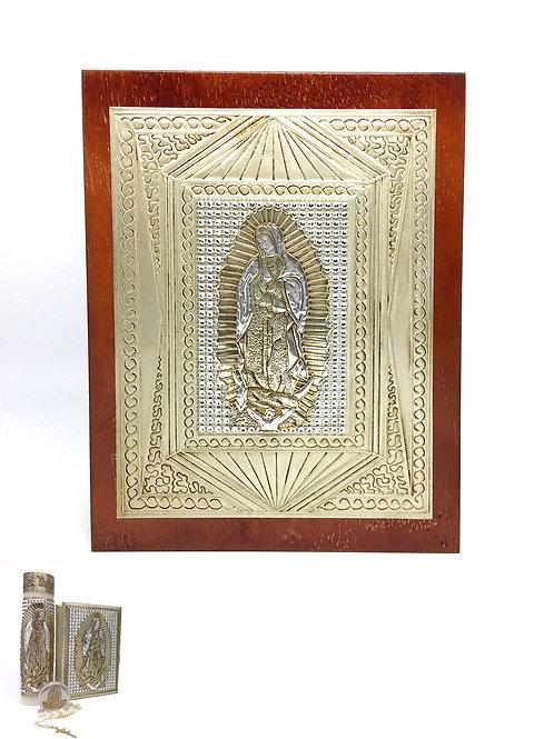 Repujado Communion Set (Rhinestone Virgin)