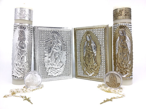 Repujado Communion Set (Virgin  Rhinestone)