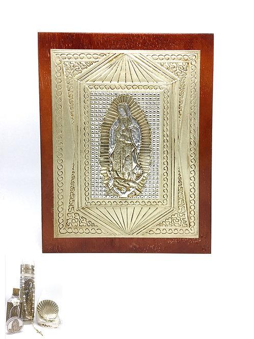 Repujado Baptism Set (Virgin Rhinestone)