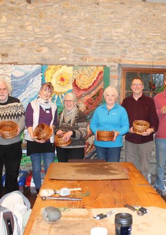 Clemantine Baskets at denmark Farm, Feb'20