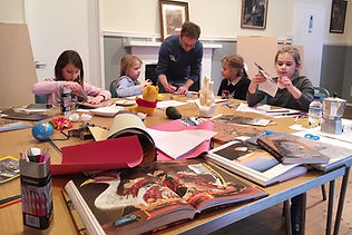 norwich art school, evening art classes, children art workshop, childrens fine art clasess,