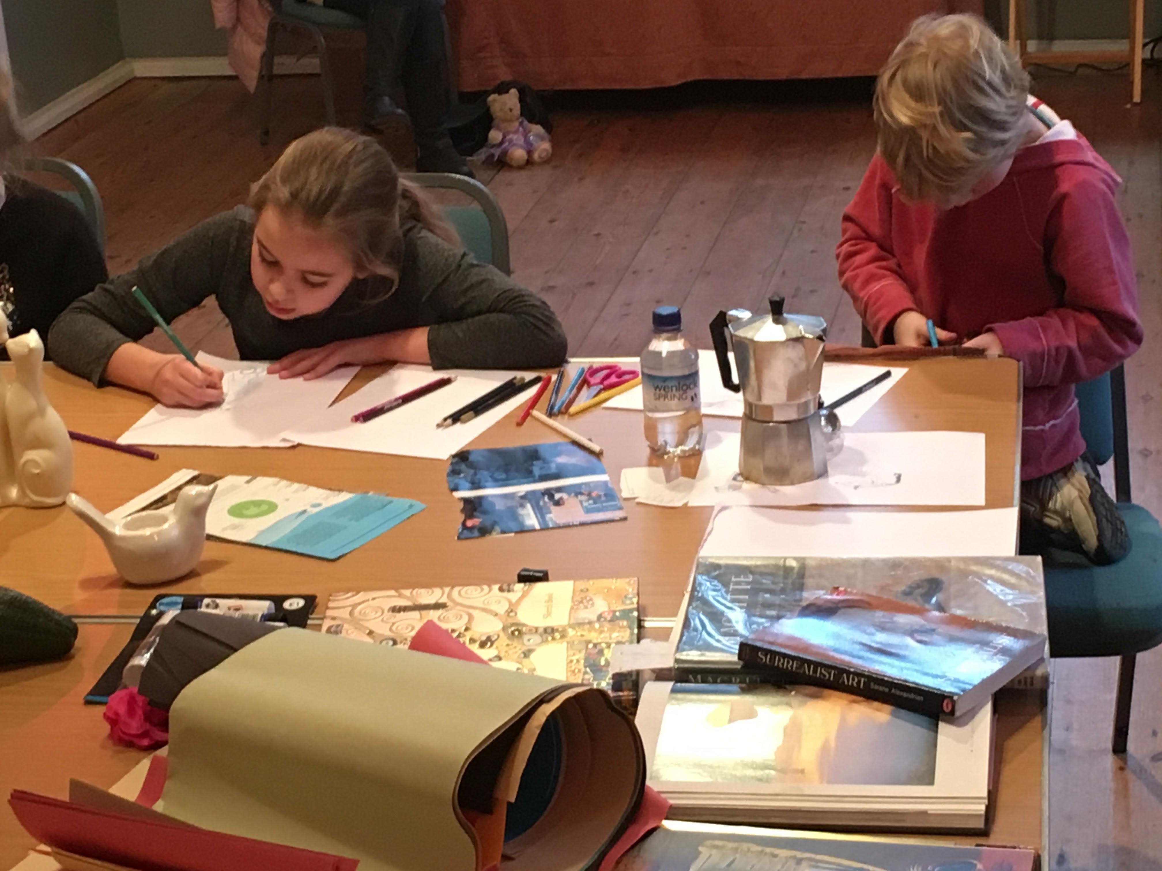 Drawing Dreams Workshop 5