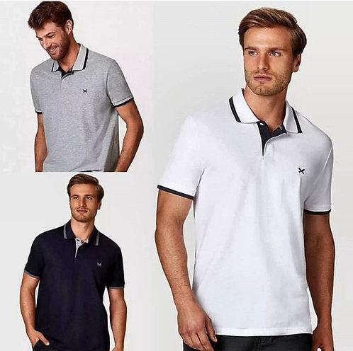 009 - Camisa polo básica masculina