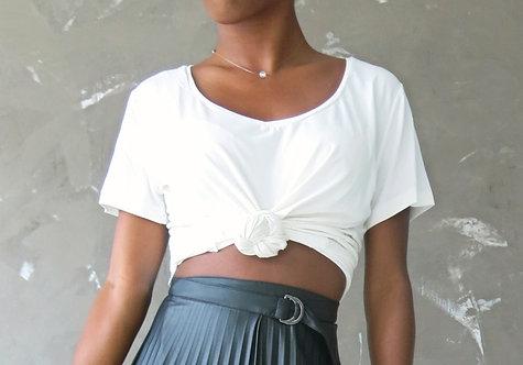 015 - T-shirt básica demanga curta