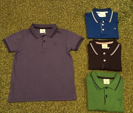 005 - Camisa polo malha piquet