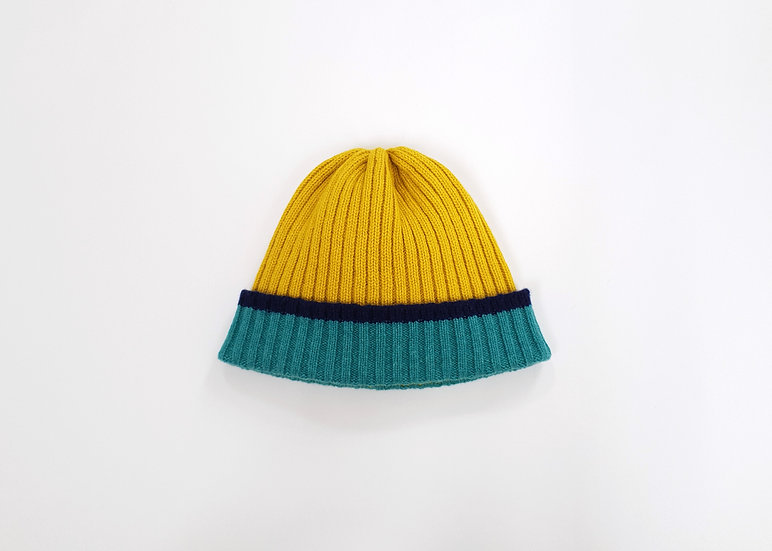 Piccalilli Lambswool Knitted Beanie Hat