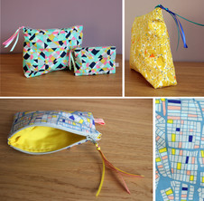 Coin and cosmetic bags