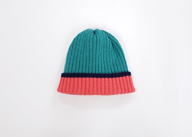 Shamrock Lambswool Knitted Beanie Hat