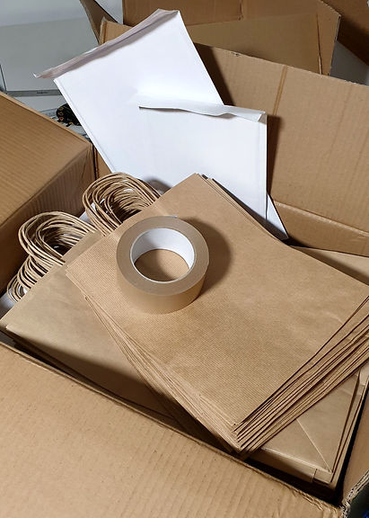 Introducting my eco-friendly packaging