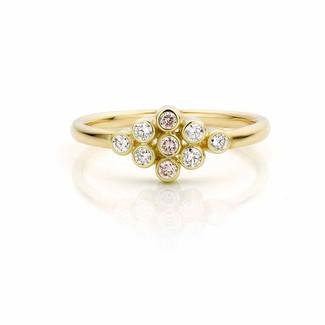 Verlovingsring met diamant _ Atelier LUZ