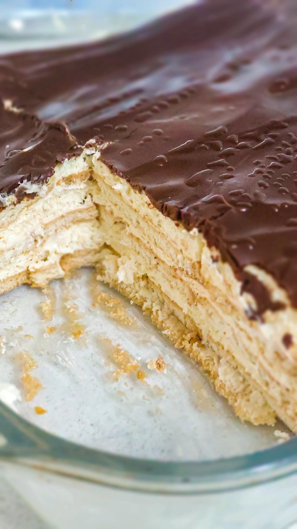 עוגת ביסקוויטים פרווה