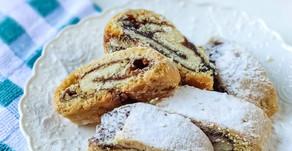 עוגיות תמרים מגולגלות