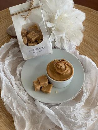 Goat Milk Fudge 10oz - Peanut Butter