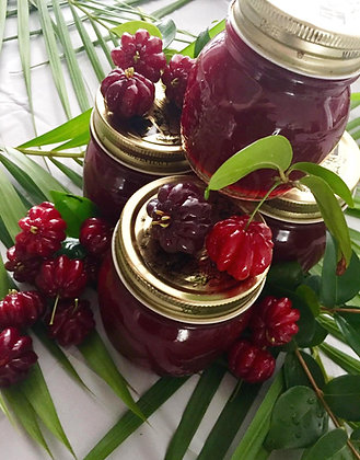 Homemade Surinam Cherry Jam