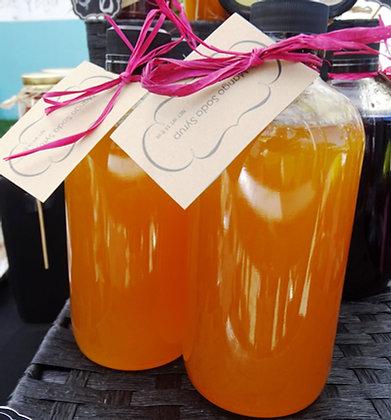 Mango Soda Syrup 16oz