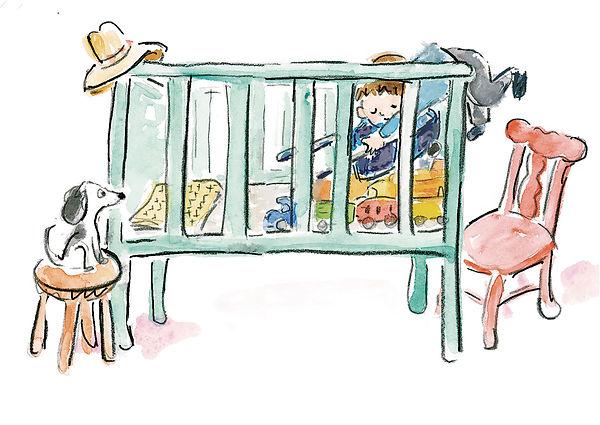 Boy prepares crib adjustments.jpg