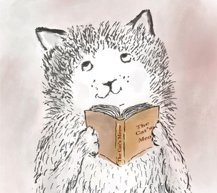 Sketch for International Book Day