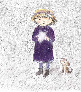 """""""The star no longer fit in her pocket."""""""