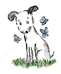 dog butterflies spot .jpg